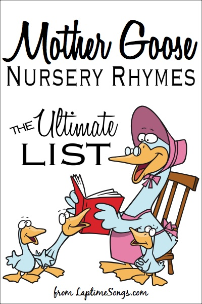 Mother Goose Nursery Rhymes Laptime Songs