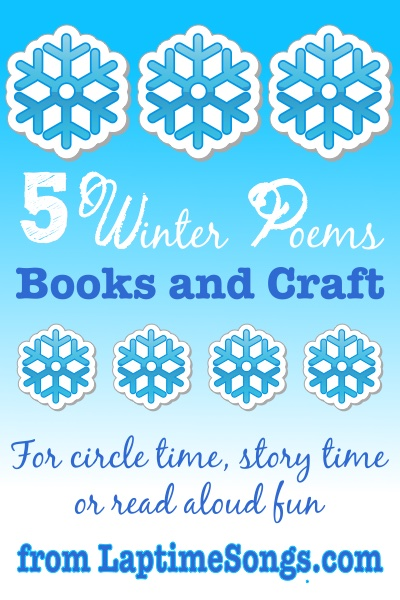 Winter Poems for Storytime, Circle Time or Read Aloud Fun