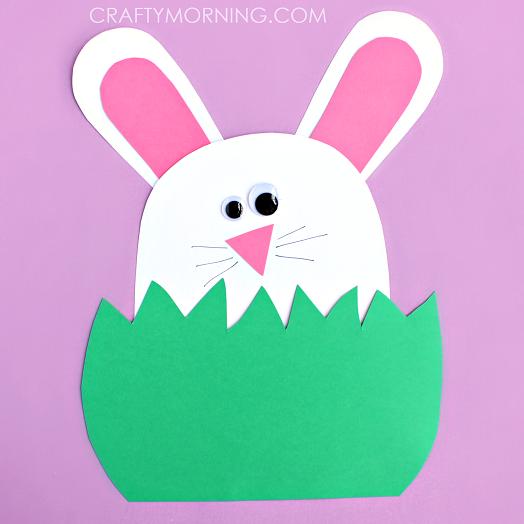 Bunny hiding in the grass