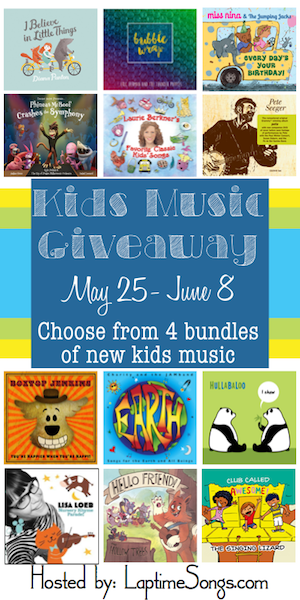 Kids Music Giveaway