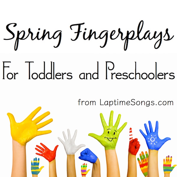 5 Spring Fingerplays